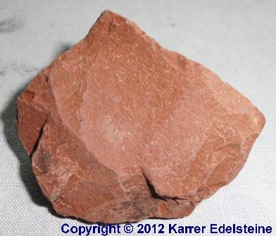 Roter Jaspis Rohmineral