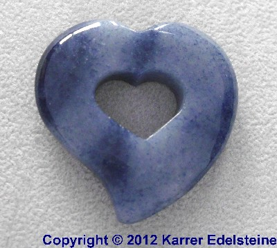 Blauquarz Romantic Hearts