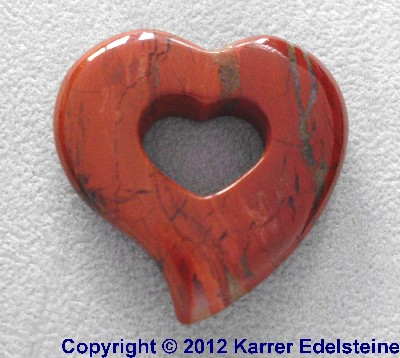Roter Jaspis Romantic Hearts